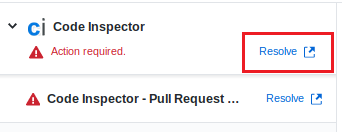 Resolve link on a GitHub Pull Request
